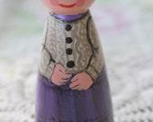 """Peg Doll Girl Large 3.5"""" size"""