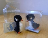 Ara Penguin - Vintage Miniatures - Miniature Penguins - Two Available