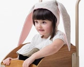 Snowshoe Rabbit Bunny Hat