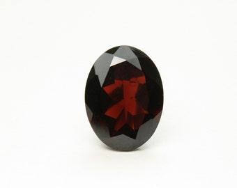 Faceted Garnet Gem Stone