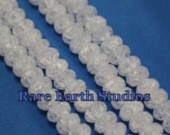 5x8mm Synthetic Quartz Beads Round 60315062