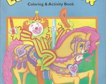 Landoll Let's Color Coloring & Activity Vintage Book, C1993