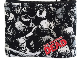 Walking Dead Coin Bag // Zombies // Walkers