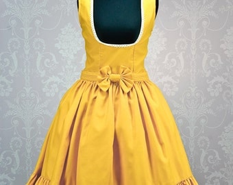 "Made to measure Disney inspired ""Belle"" under bust Lolita Dress."