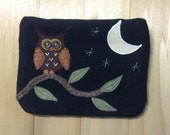 Midnight Owl, Large Pouch