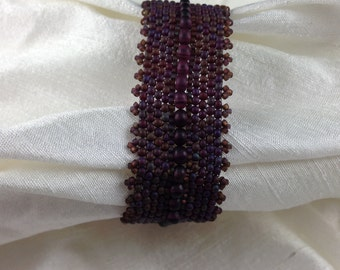 Cabernet-Colored Bracelet