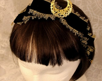 Made to Order: Cresent Moon Headband
