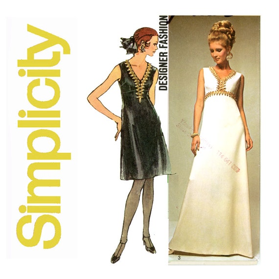 Maxi Dress Sewing Pattern Uk Gallery - origami instructions easy for ...