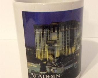 Vintage Las Vegas mug,Aladdin Hotel,Coffee Mug, vintage las vegas,cup,vintage Aladdin,mug,Nevada coffee mug
