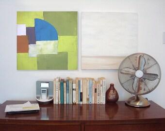Etsy acheter vendre et vivre handmade - Peinture geometrique moderne ...