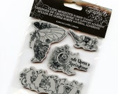 Cling Mounted Rubber Stamps from Graphic 45 - Once Upon a Springtime #1