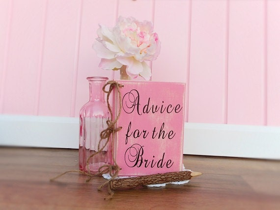 Bridal Shower Advice For The Bride Book Country Wedding Guest