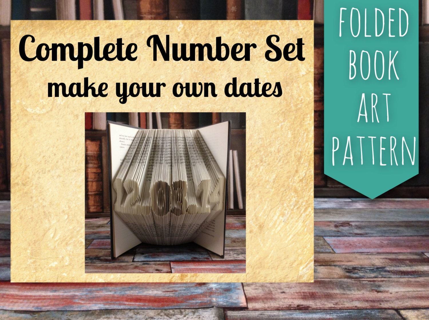 Full Date Number pack Pattern & tutorial, gift, decoration ... - photo#35