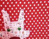 Love Bunny Plush MINI Animal - Keychain, Ornament, Mini-toy, Collect-them-all!