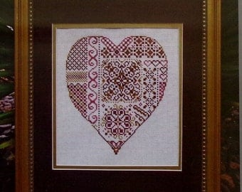 Turquoise Graphics & Designs DEEPEST LOVE Heart Valentine's Day - Counted Cross Stitch Pattern Chart