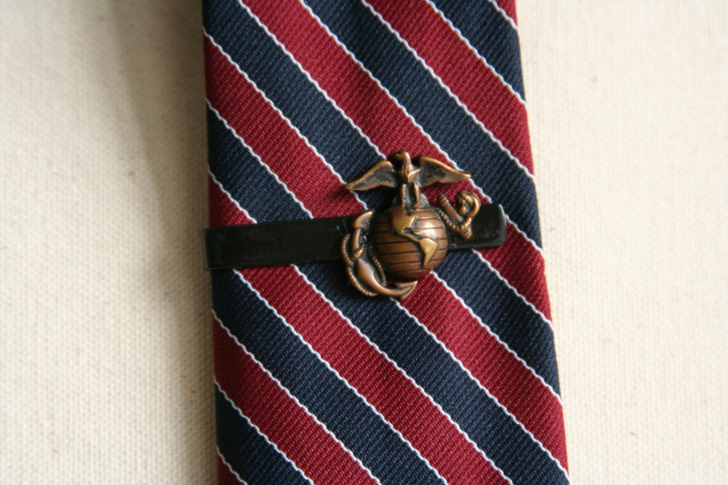 USMC Tie Clip Marine Corps Tie Clip made from a USMC by ...
