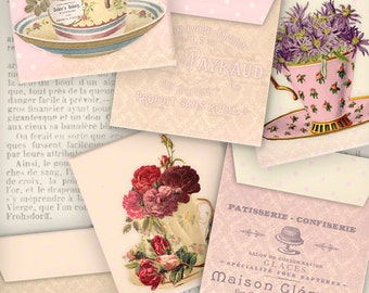 Flower Tea Bag Envelopes - VDTEVI0991