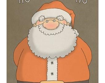Santa - Illustration Art Print