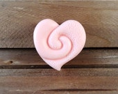 Cutest Heart Soap Ever! Adorable Guest Soap, You Choose Color & Scent