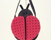 Ladybug purse, girls purse, goodie bag, novelty purse, treat bag, party favor, LB10