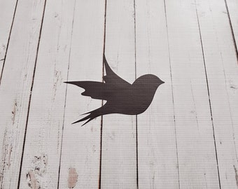 Vinyl Wall Decal Bird