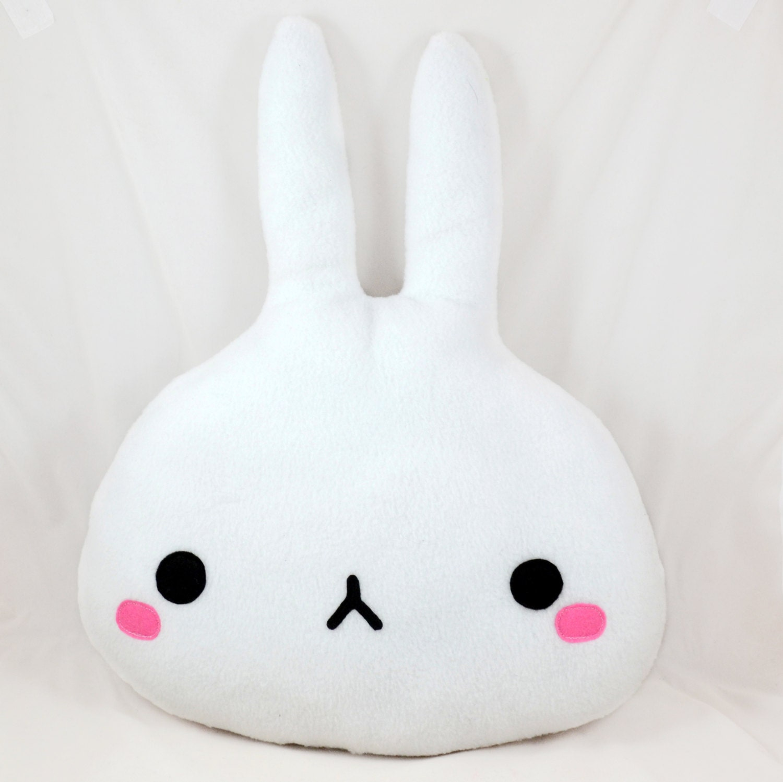 Decorative Plush Pillows : Bunny soft pillow / plush toy / home decor / nursery decor
