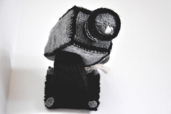 Security Camera Knitting Pattern PDF
