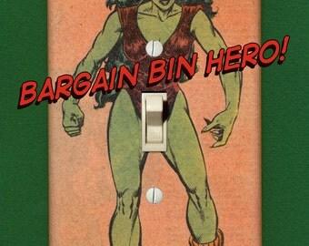She-Hulk - Superhero Light Switch Plate