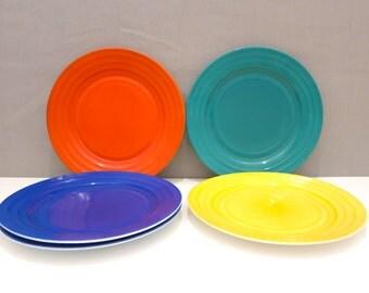 1940s Dinner Plates by Hazel Atlas, set of 6