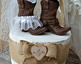 western wedding cowboy cowgirl boot cake topper bride and groom decorated boots western themed bridal shower boots cowgirl hat country girl