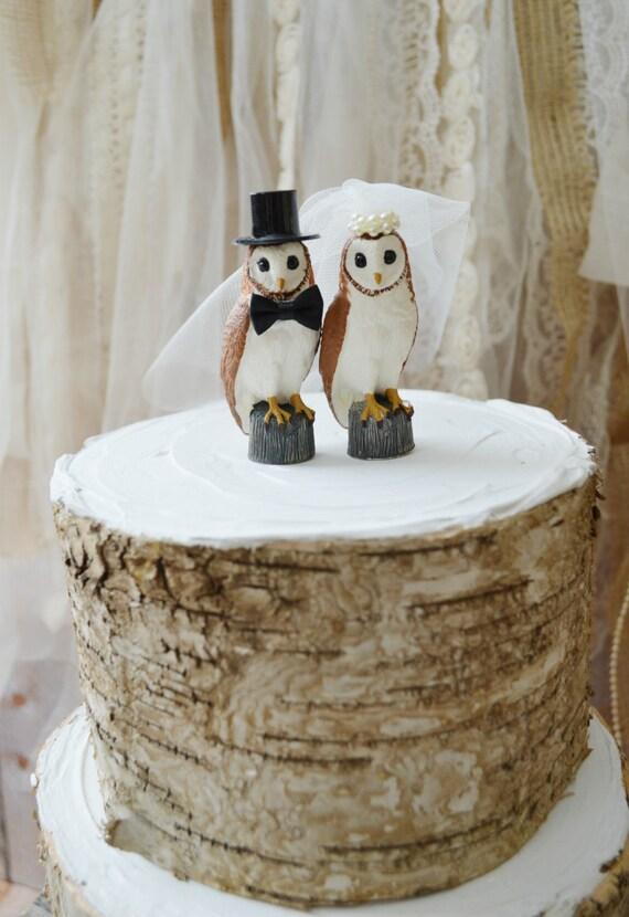 Ski Wedding Cake Topper