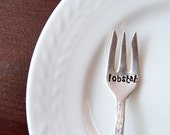Lobstah - Stamped Picking Fork - Lobster  - stocking stuffer, kitchen gadget, kitchen utensil