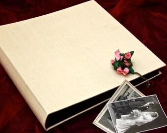 ivory silk album - extra large