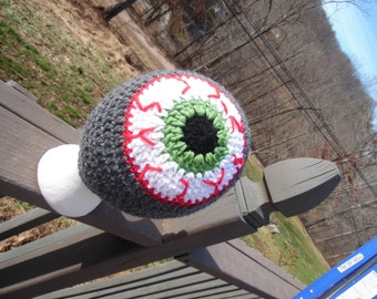MADE TO ORDER: I've Got My Eye On You Crochet Hat (Beanie Style)