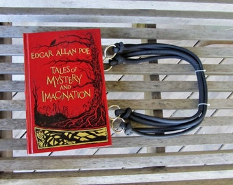 Book Purse: Tales of Mystery and Imagination - Edgar Allan Poe - CUSTOM MADE to ORDER