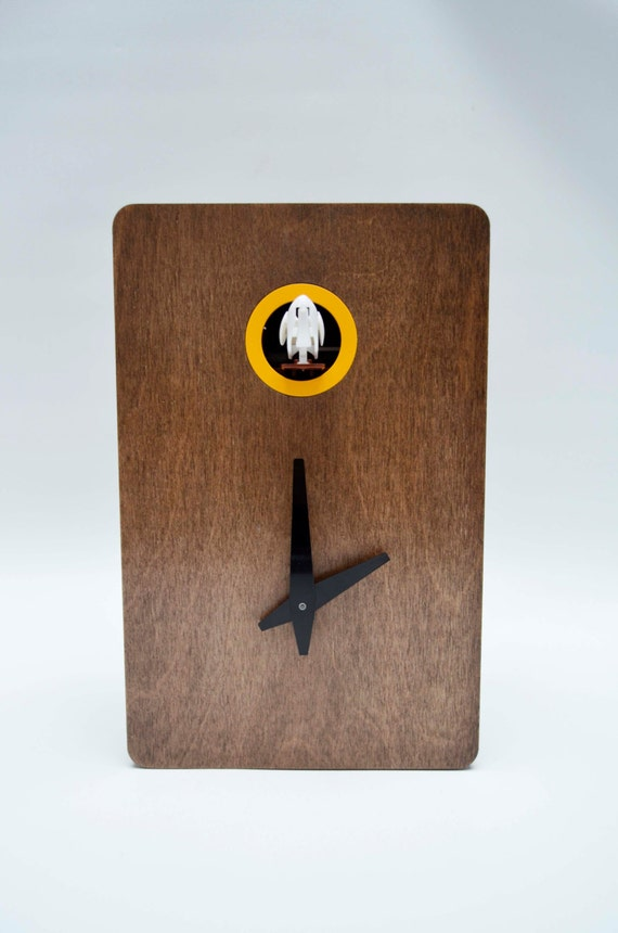 Quercus n 2 modern cuckoo clock by pedromealha on etsy - Contemporary cuckoo clock ...
