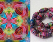 """Printable Paper Bead Sheet Kelly Sets A and B 8.5""""x11"""" paper"""
