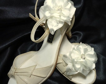 Shoe Clips, Wedding Shoe Clips, Bridal Shoe Clips, Satin Shoe Clips, Clips for Wedding Shoes, Bridal Shoes, Shoe Clips