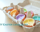 DIY Easter Candles Making Kit Set Of 10 Pastel Colors Soy Wax  Easy DIY Kit for Eco-friendly Easter Home Decor