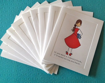 Set of 10 - assortment of CARDS