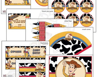 Woody from Toy Story Birthday, Woody Party Decorations, Woody Birthday, Toy Story Party Decorations, Toy Story Birthday
