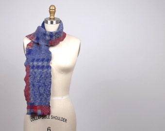 Winter Long Scarf - Plaid Cozy Scarf - Women's Long Scarf - Winter Scarves