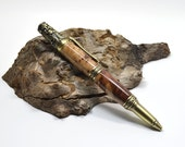 Victorian ballpoint pen Red Mallee burl Exotic wood - MADE TO ORDER