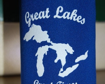 Great Lakes Great Times Beer Coozie