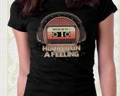 Galaxy Mix Hooked on a Feeling T Shirt Great Christmas gift