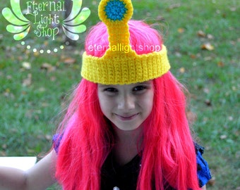ALL SIZES Princess Bubblegum Inspired Crown