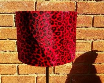 Leopard Lamp Shade Etsy
