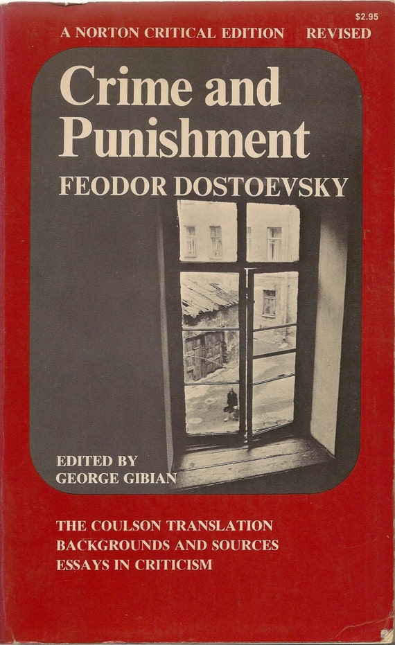 essays on crime and punishment by fyodor dostoevsky Crime and punishment essays: an hour the use of crime as a device in crime and punishment and a doll's house be the first of fyodor dostoevsky's.