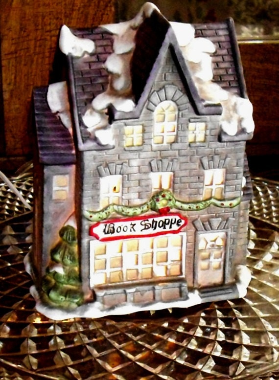 Clearance sale village home decor christmas village holiday Clearance home decor