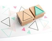 Triangle outline stamp